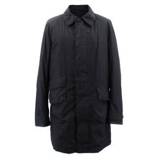 Ralph Lauren Black Coat with detachable inner vest