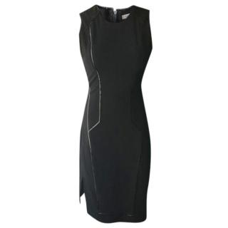 Helmut Lang dress with patent piping