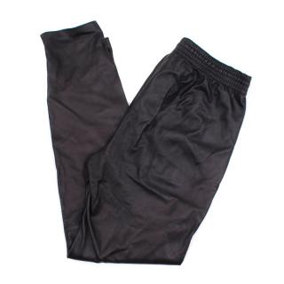 Vince Softest Leather Track Pants