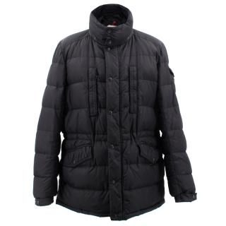 Moncler Black Multi Pockets Down Jacket