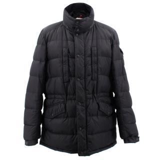 Moncler Black Multi Pockets Down Jacket