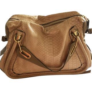 Chloe Python Paraty Bag