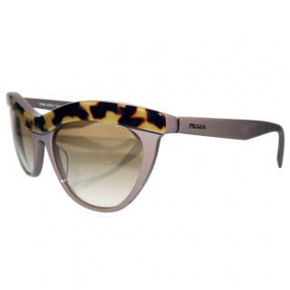 PRADA Tortoiseshell cat eye sunglasses