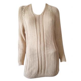 Brunello Cucinelli camel cashmere blend sweater