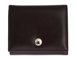 Dolce & Gabbana Brown Leather Trifold Wallet