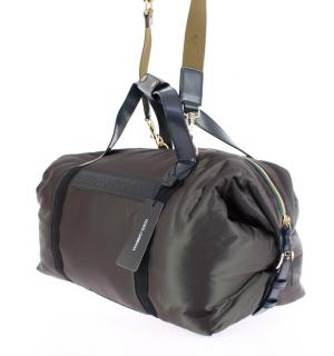 Dolce & Gabbana Green Unisex Boston Duffel Bag
