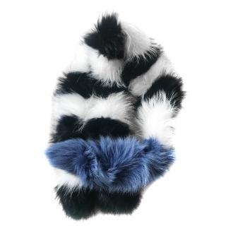 Charlotte Simone popsicle scarf