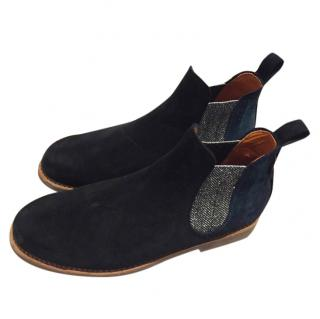 Penelope Chilvers Safari Metallic Ankle Boots