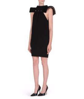 Karl Lagerfeld Black Geometric Dress