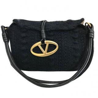 Valentino Wool Knit Bag