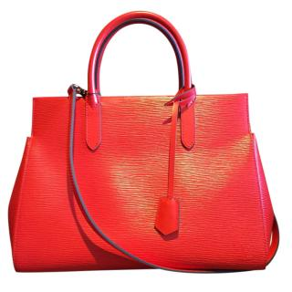 Louis Vuitton Red Epi Leather Marly MM
