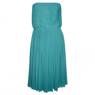 Halston Heritage Pleated Dress