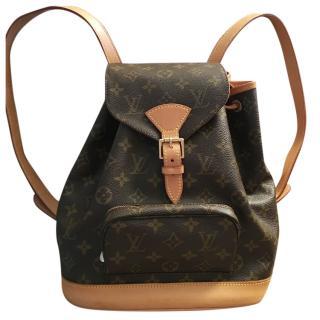 Louis Vuitton Montsouris mini backpack / shoulder bag