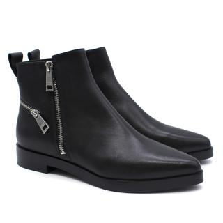 Kenzo Totem Leather Ankle Boots