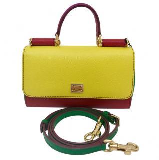 Dolce & Gabbana Sicily Tricolour Bag