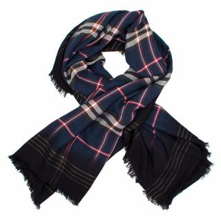 Zadig & Voltaire Scotty Checkered Scarf