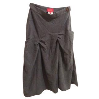 Vivienne Westwood Red Label Grey Skirt
