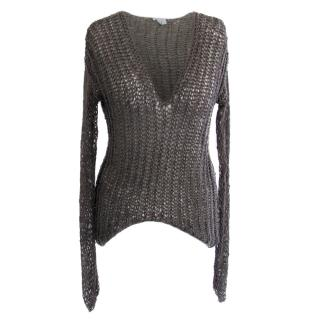 Helmut Lang Loose Knit Sweater
