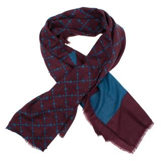 By Malene Birger Signature Printed Woolen Scarf
