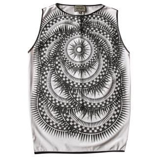 Fausto Puglisi Solar Clock Tunic Mini Dress