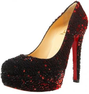 Christian Louboutin Sequin Pumps