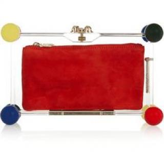 Charlotte Olympia Pandora Spheres clutch
