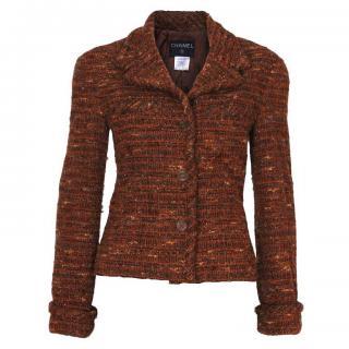 Vintage Chanel brown wool Jacket