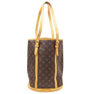 Louis Vuitton Bucket GM Brown Monogram Tote Shoulder Bag