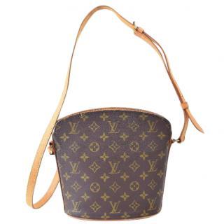 Louis Vuitton Drouot Brown Monogram Shoulder Bag