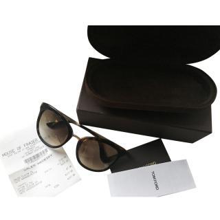 Tom Ford Emma Cat Eye Sunglasses