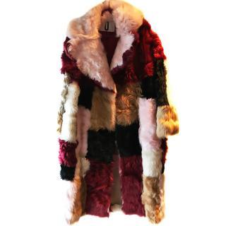 Top Shop Unique Shearling Coat