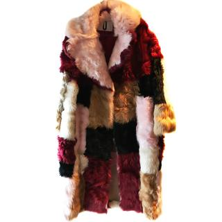 Top Shop Unique Shearling Coat
