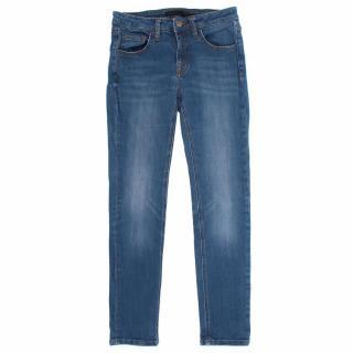 Victoria Beckham Mid Rise Skinny Jeans