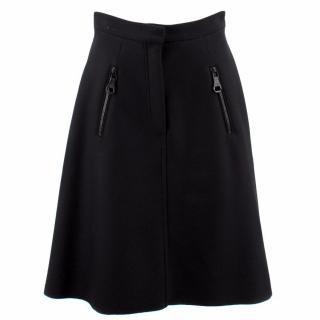 Loewe Falda Wool Skirt