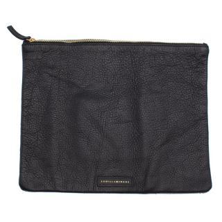 Lumilla Mingus Black Laia Pony Hair Clutch Bag