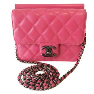 Chanel Limited Edition Bubble Gum Pink Flap Bag