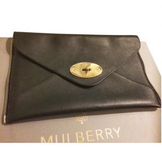Mulberry Black Willow Tote Bag