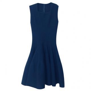 Alaia Wool Sleeveless Mini Dress