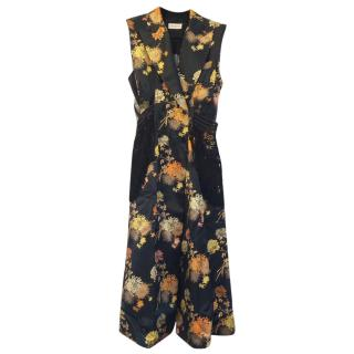 Dries Van Noten Double Breasted Dress
