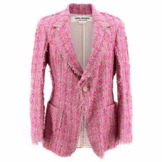 Junya Watanabe Pink Tweed Blazer