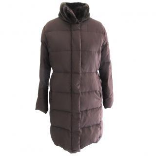 Calvin Klein Long Down Coat