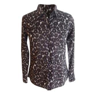 Agnes B. Paris Leopard Blouse