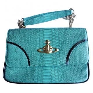 Vivienne Westwood Turquoise Handbag