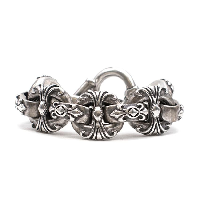 Crazy Pig Sterling Silver Celtic Bracelet