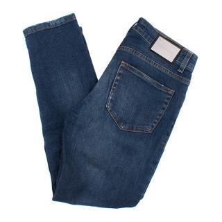 Pierre Balmain Low Rise Skinny Jeans