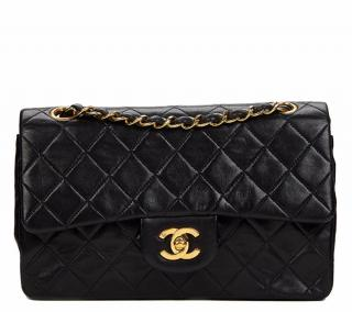 Chanel Quilted Lambskin Vintage Classic Double Flap Bag