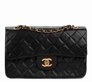 Chanel Quilted Lambskin Vintage Small Classic Double Flap Bag