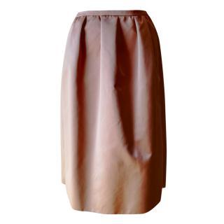 No.21 Satin Corolla Skirt
