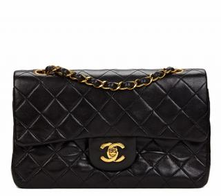Chanel Quilted Lambskin Vintage Double Flap Bag