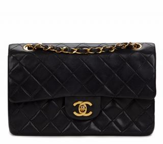 Chanel Quilted Small Classic Double Flap Bag